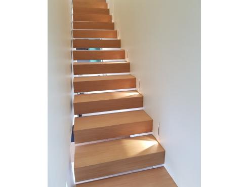 Réalisation à Lyon - escalier